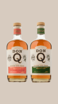 Don Q odhaluje nové etikety